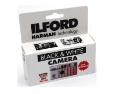 Ilford XP2 Black & White Disposable Camera 27 Exp
